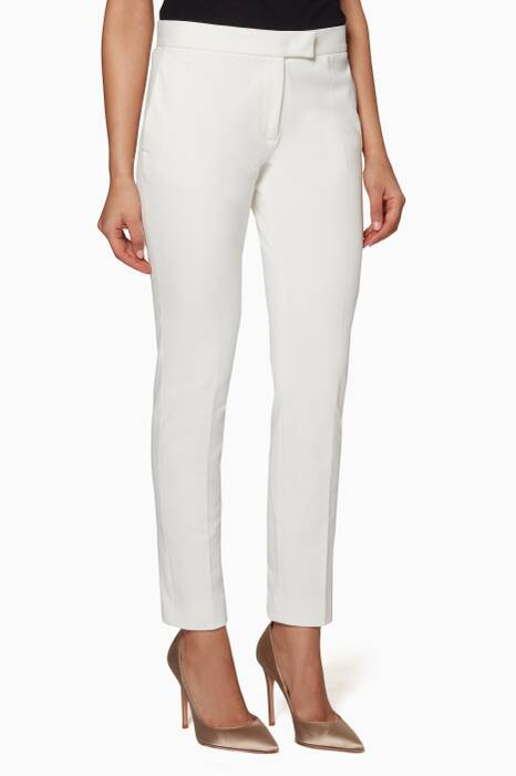 White Finley Pants