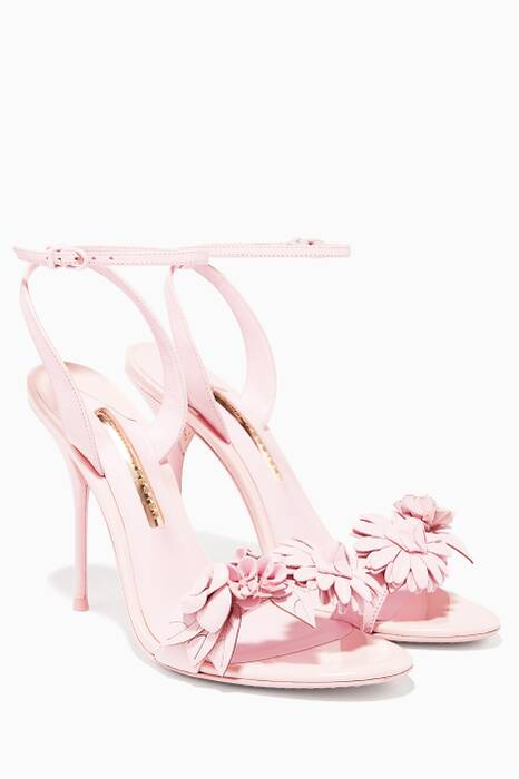 Pale-Pink Lilico Leather Sandals