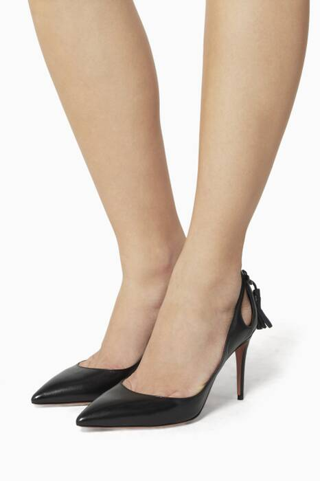 Black Forever Marilyn Pumps