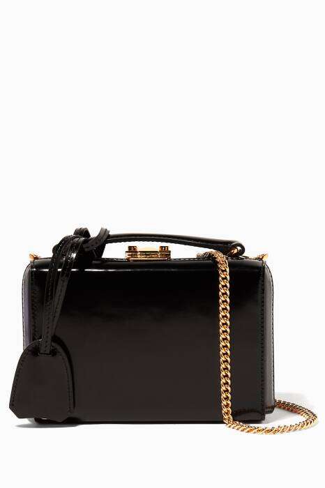 Black Mini Brush Off Grace Box Bag