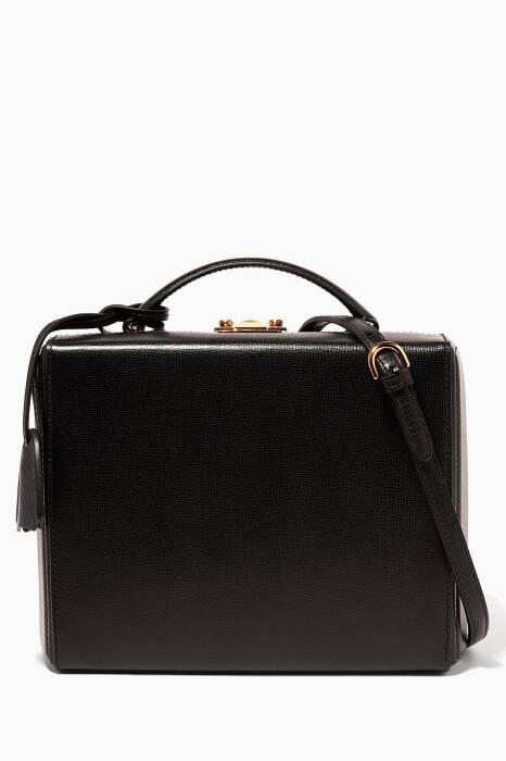 Black Large Grace Box Bag