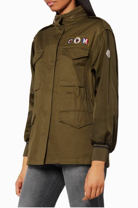 Khaki Zamia Field Jacket