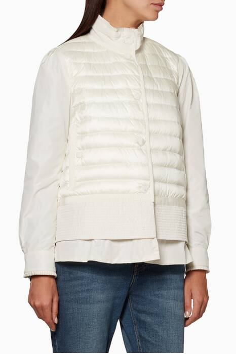 White Cereste Giubbotto Jacket