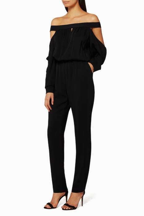 Black Clanisi Jumpsuit