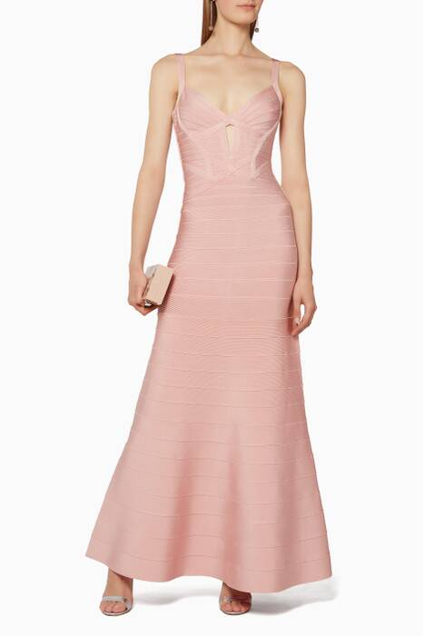 Pink Cambria Essential Bandage Gown