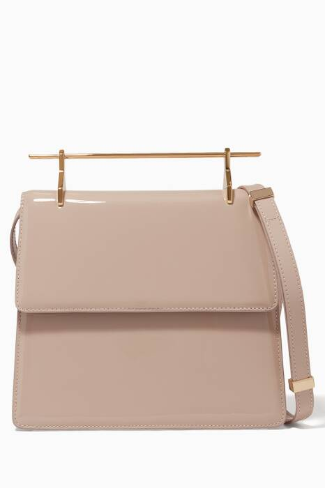 Nude Patent La Collectionneuse Shoulder Bag