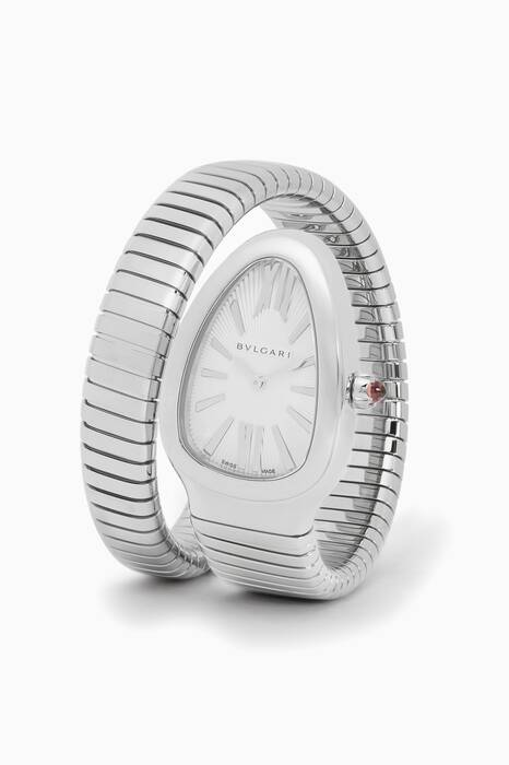 Stainless Steel Serpenti Tubogas Watch