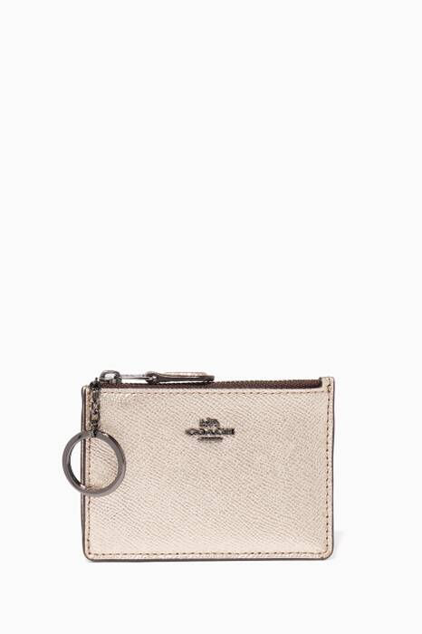 Platinum Mini Skinny ID Case