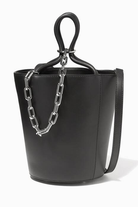 Black Large Roxy Tote Bag