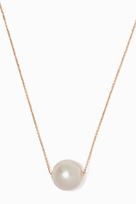 Rose-Gold Links Of Love Necklace