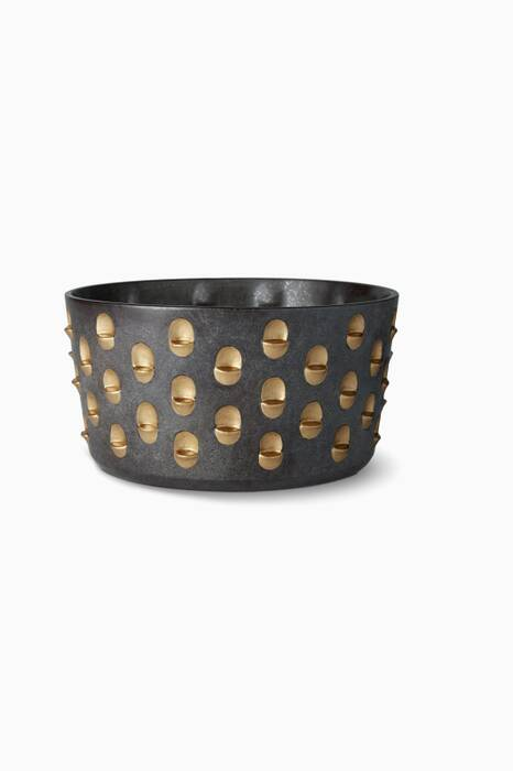 Black & Gold Large Coba Bowl