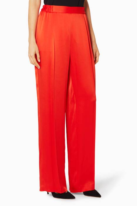 Orange Cicely Pants