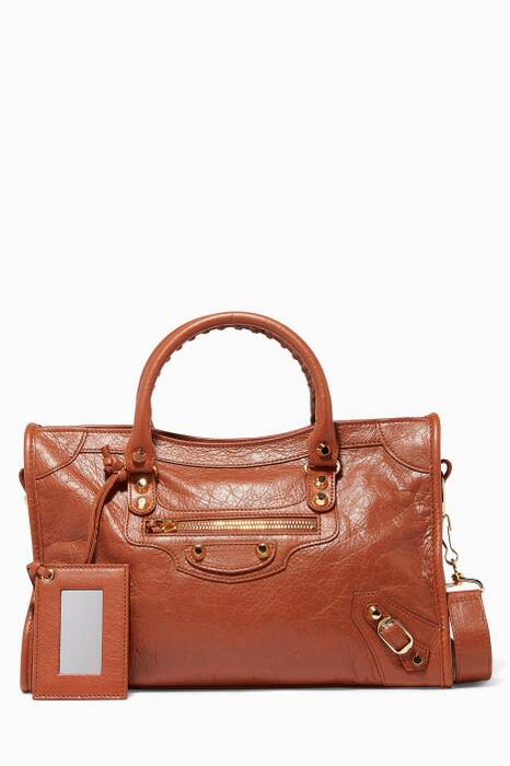 Rouge Brique Small Classic City S Tote Bag