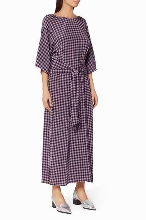 Violet Small Cossier-print Maxi Dress