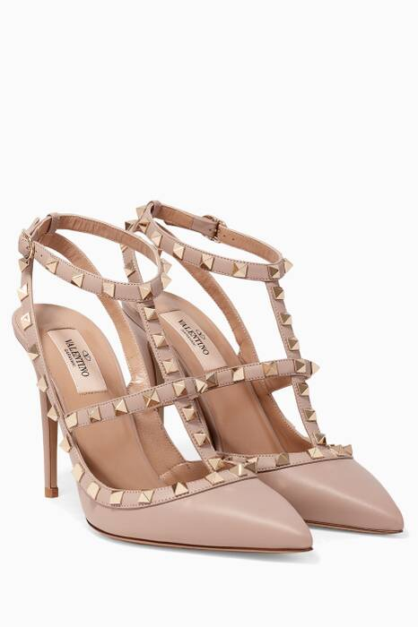 Poudre Single-Strap Rockstud Pumps