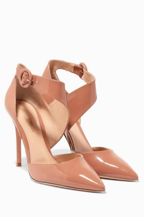 Praline Patent Leather 105 Pumps