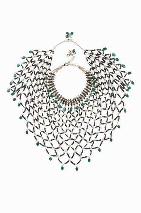 Green Rete Necklace