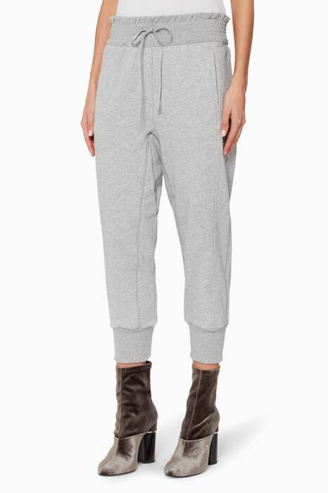 Light-Grey French Terry Joggers