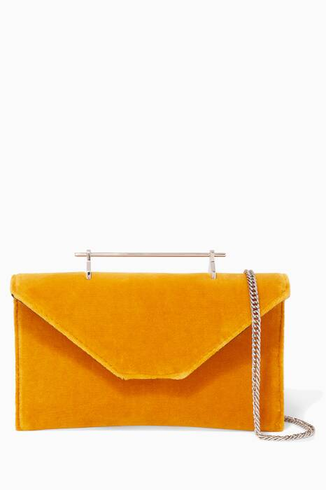 Ochre Velvet Mini Annabelle Bag