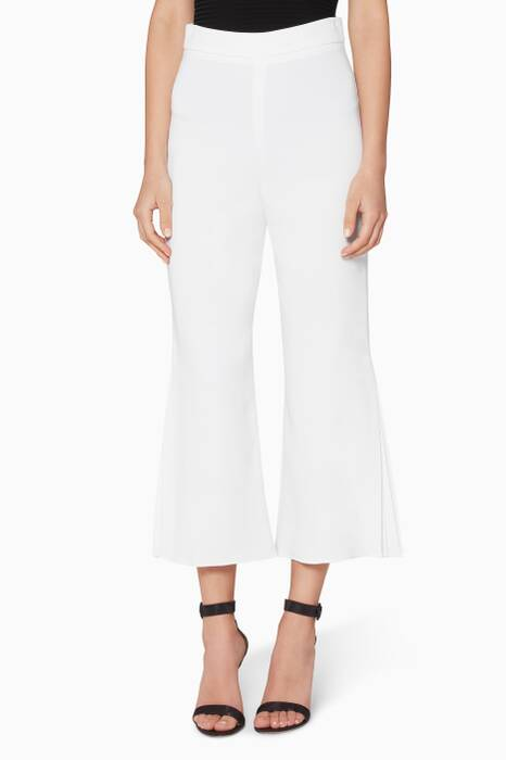 Off-white Stretch Cropped Pants