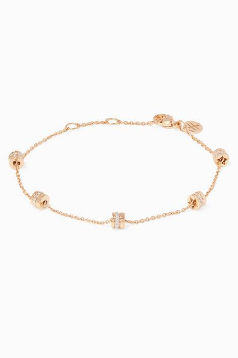 Yellow-Gold & Diamond Souvenir Bracelet