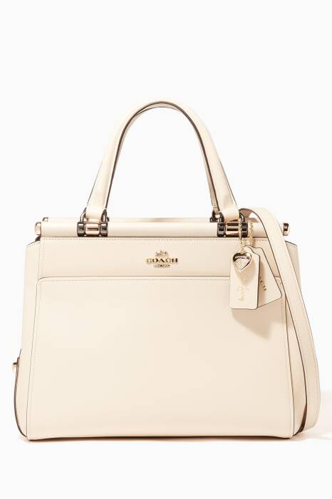 Cream Coach X Selena Gomez Grace Bag