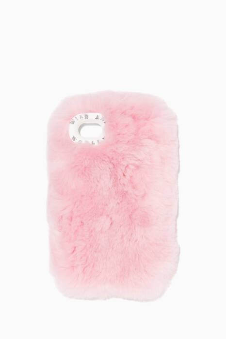 Pink Lisa Beaver-Fur iPhone®7 Cover