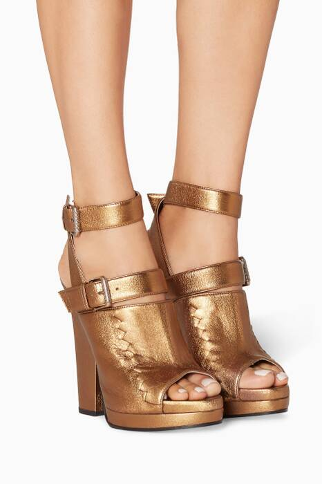 Gold Oro Antico Ravello Sandals