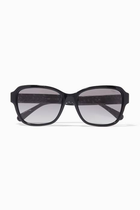 Black New York Sunglasses