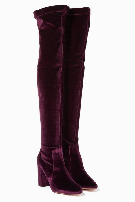 Aubergine So Me Over-The-Knee Boots