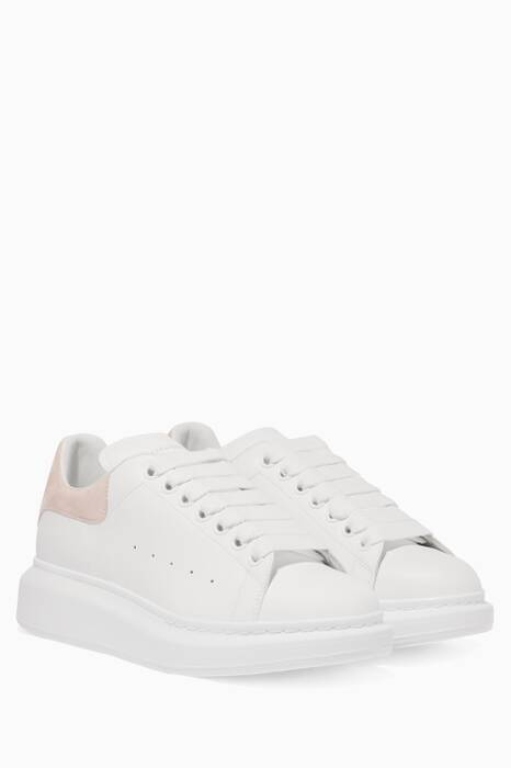 White Classic Larry Oversized Sneakers