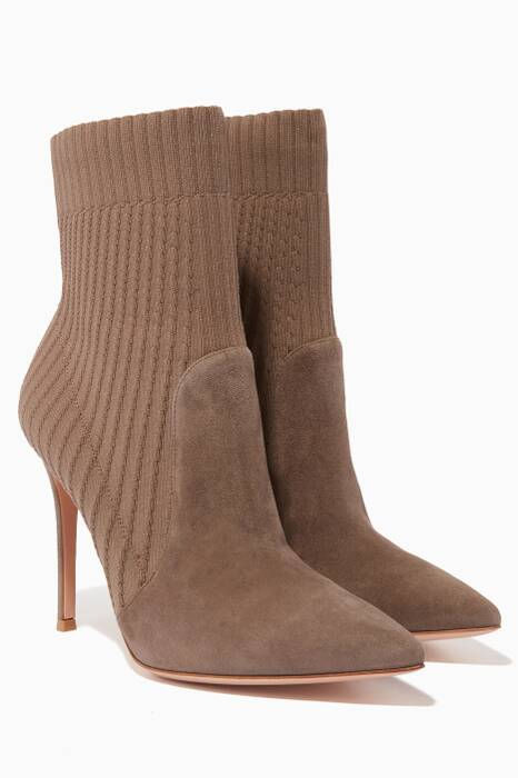 Light Brown Katie Ankle Boots