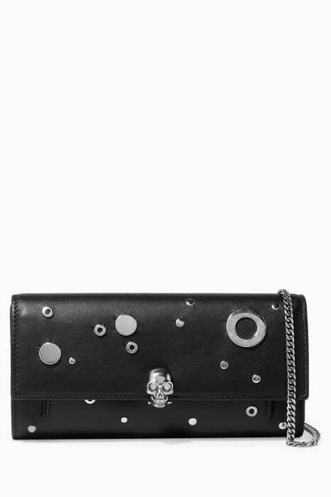 Black Wallet With Chain