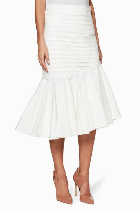 Ivory Make It A Great One Skirt