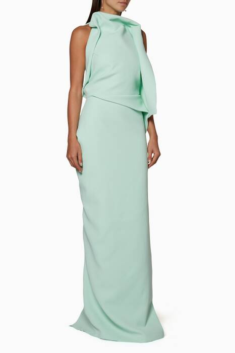 Pastel-Green Morphology Gown