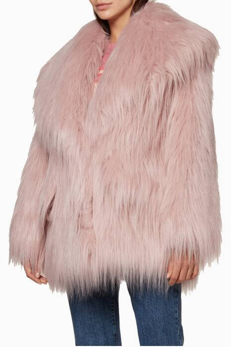 Alabastro Faux-Fur Jacket