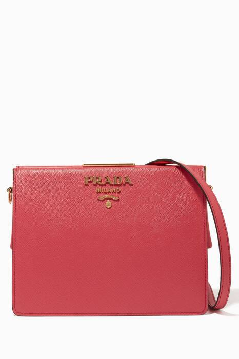 Pink Small Frame Shoulder Bag