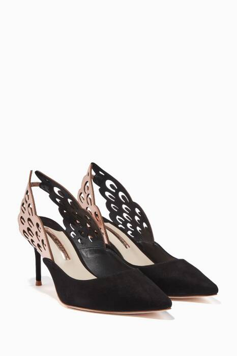 Black Angelo Pumps