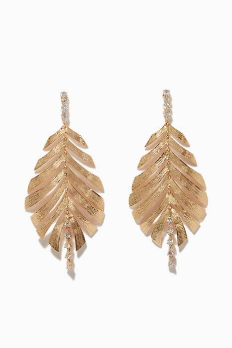 Yellow-Gold Bahia Earrings
