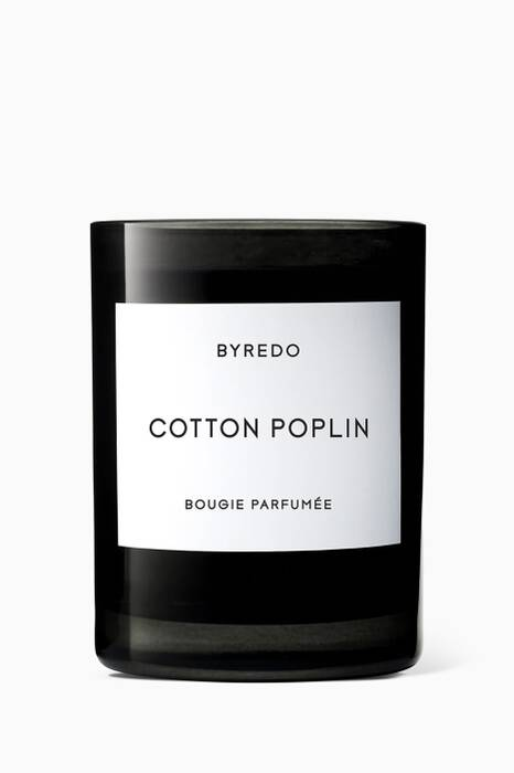 Cotton Poplin Candle, 240g