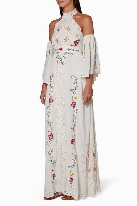 Ivory Love In The First Maxi Dress