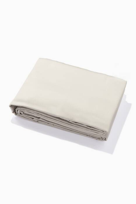 Grey I Heart Baroque Luxe Fitted Sheet