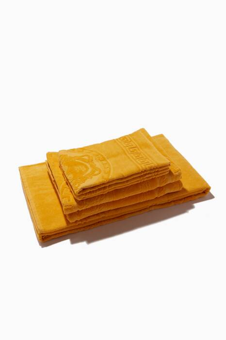 Gold Medusa Towels, Set of 5