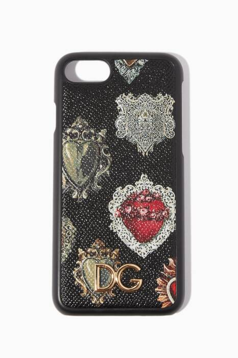 Black Dauphine iPhone®7 Cover