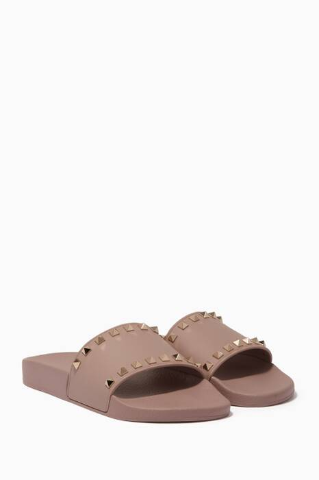 Powder Rubber Rockstud Slides