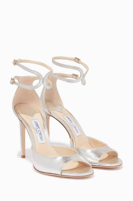 Champagne Metallic Lane 100 Sandals