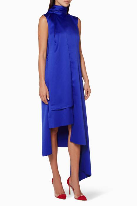 Blue Larin Sleeveless Dress