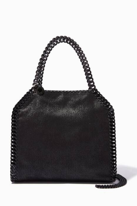 Black Falabella Shaggy Deer Mini Shoulder Bag