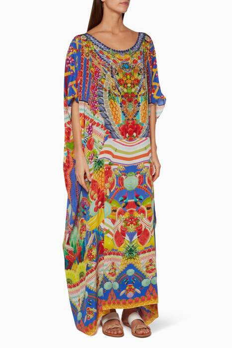 Multi-coloured Rio Riot Kaftan