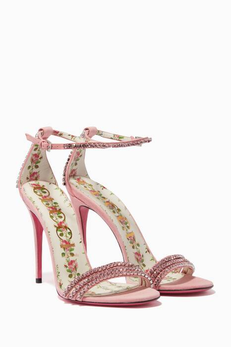 Light Pink Ilse Crystal Sandals